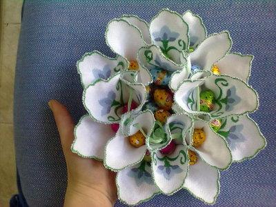 portacioccolatini floreale