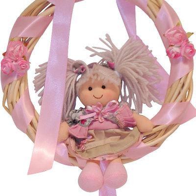 fiocco nascita my doll
