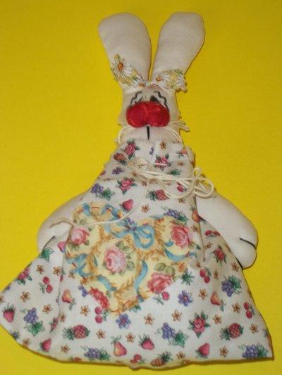 Sacchetto profuma biancheria con coniglio