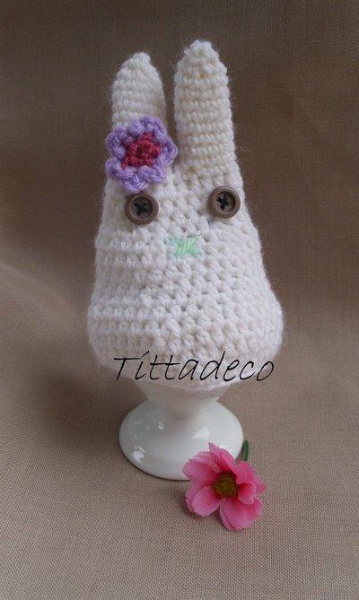 Coniglietto copri uovo