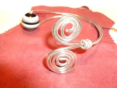 bracciale a spirale