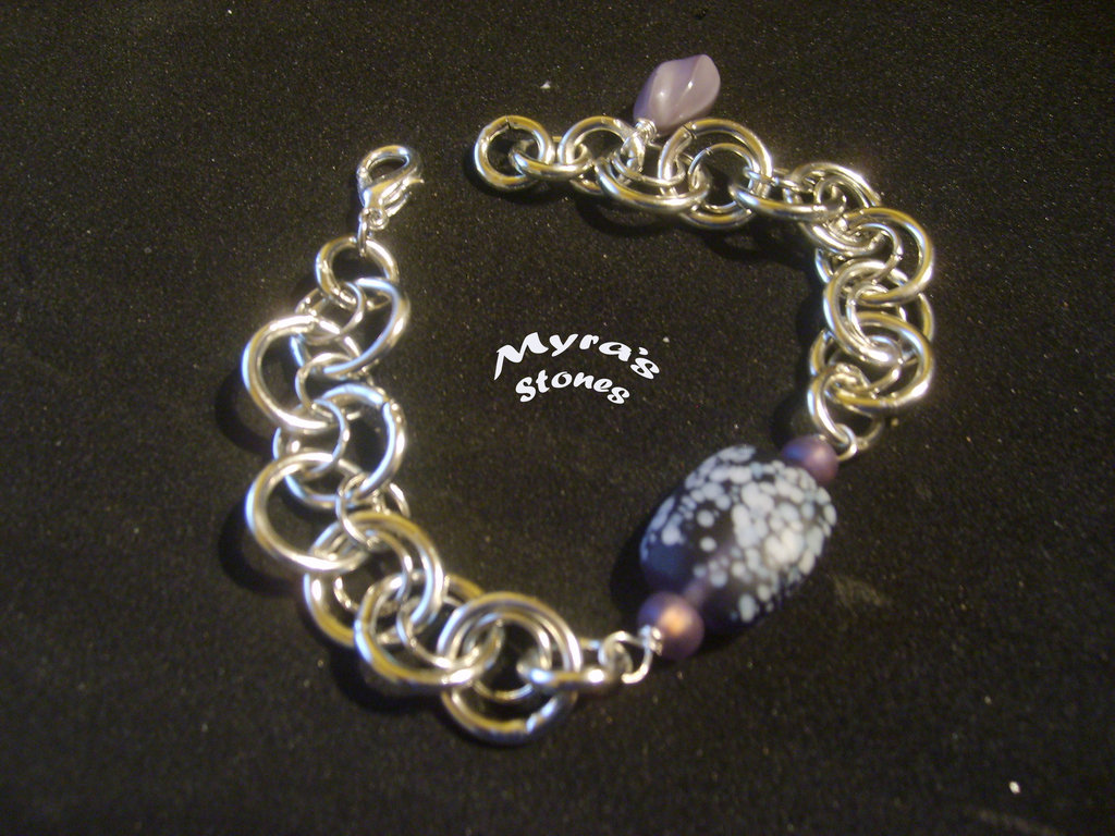 """Bracciale chainmail """"Crazy Eight"""""""