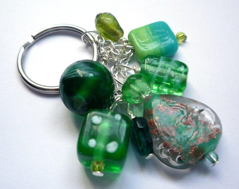 Portachiavi verde - Green keyring
