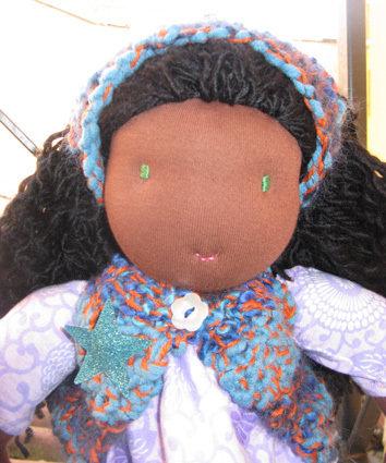 Bambola Waldorf fatta a mano Bambole handmade waldorf  doll Stella
