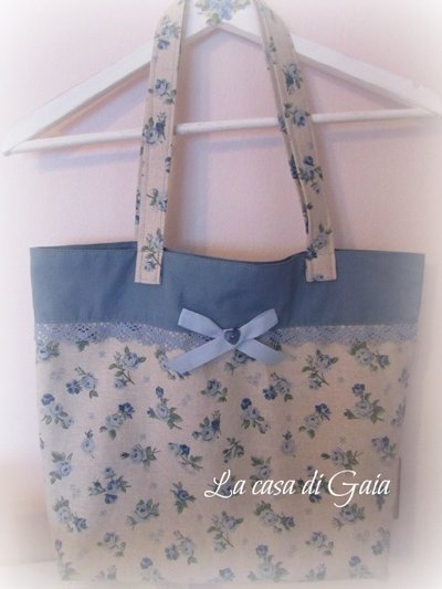 Borsa in stile Country chic