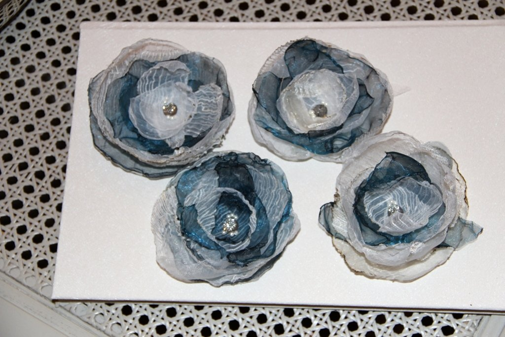 L'eleganza dei fiori blu.