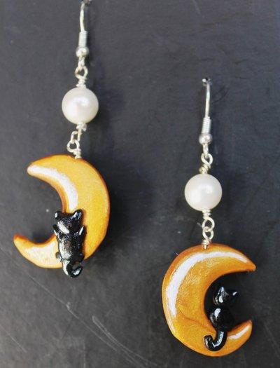 Orecchini lune- gattini