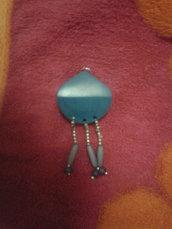 Pendente collana con perle indiane