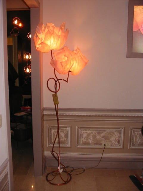 piantana 2 luci