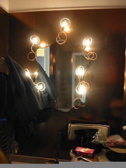 specchio con angeli