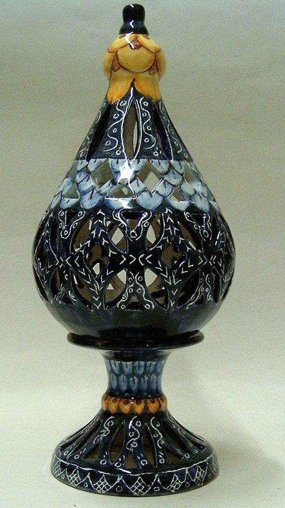 lampada araba.realizzata interamente a mano.maiolica. - per la cas ... - Lampade Arabe Italia