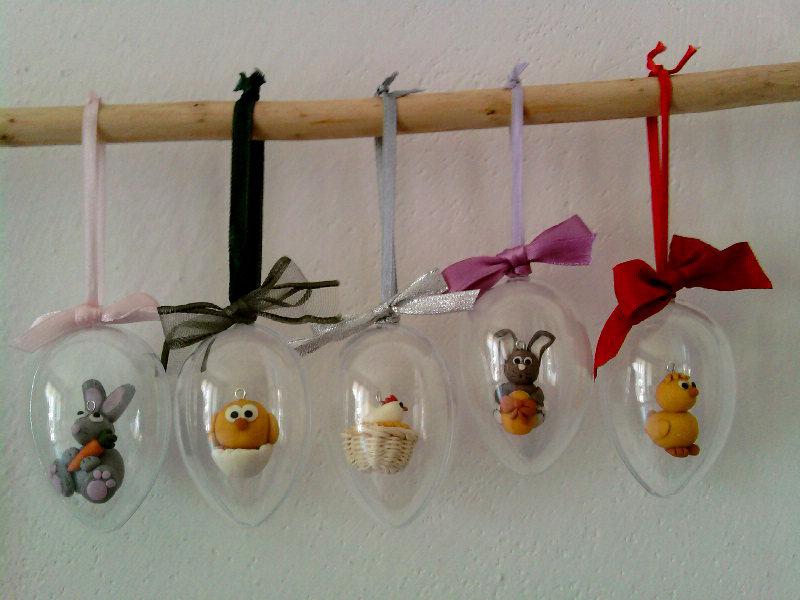 Decorazioni Pasqua fimo