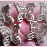 10FARFALLINE IN Ceramica Maria Rosa
