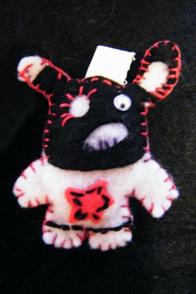 urban toys: mostriciattolo-portachiavi
