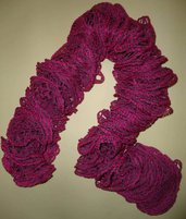 Sciarpa moda rosa ciclamino