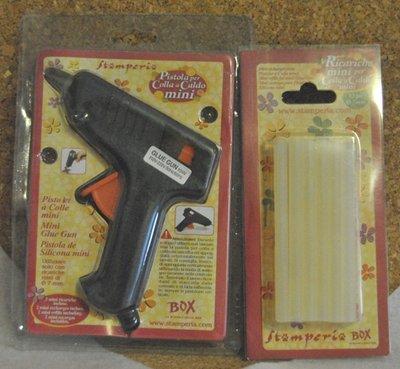 Pistola per colla a caldo mini