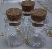 3 Bottigliette Vetro