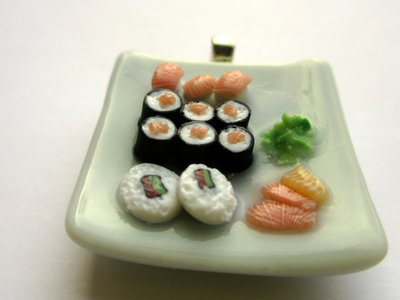 MINIATURE to wear - collana Sushi