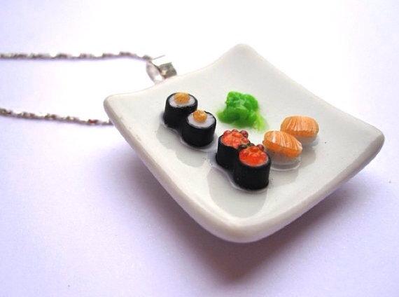 MINIATURE to wear - collana Sushi