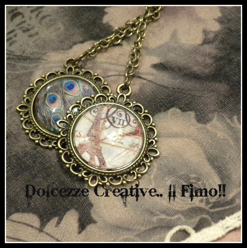 ♠Vintage Time♠ Collana Cammeo Paris