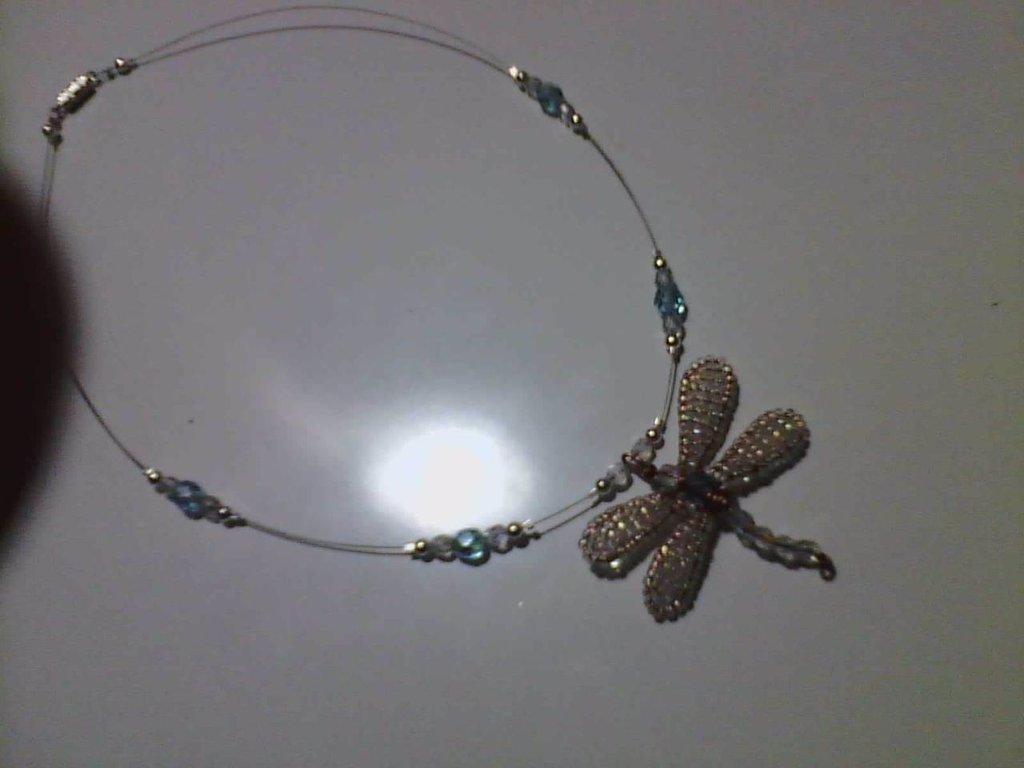 collana libellula