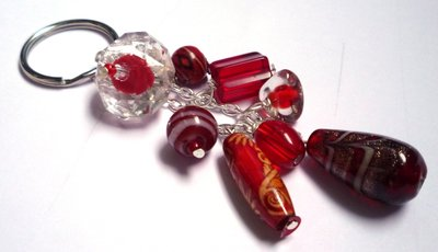 Portachiavi rosso - Red keyring