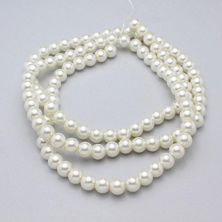 filo perle in vetro 8mm