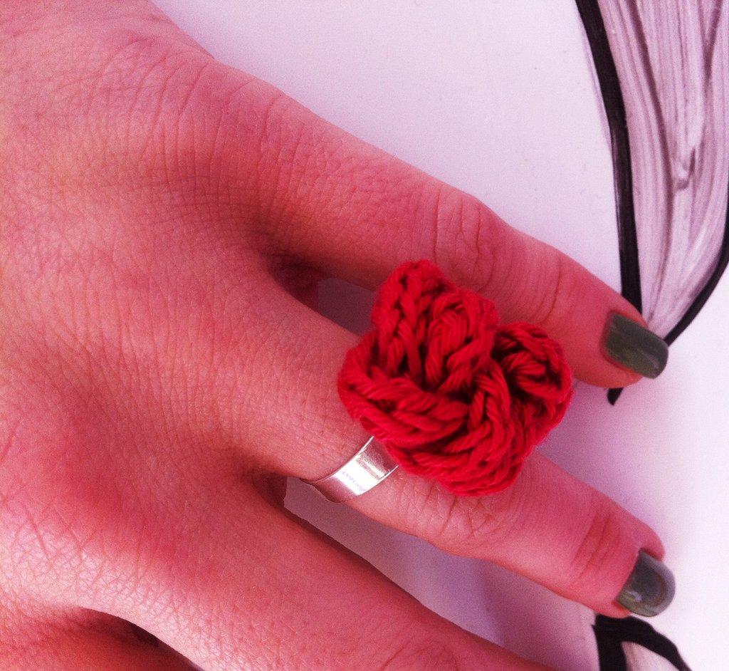 anello tubolare uncinetto