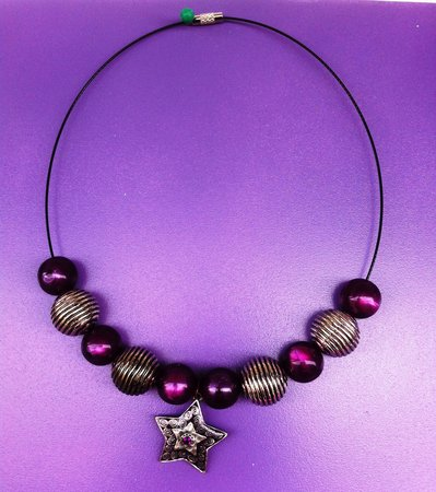 girocollo stella viola