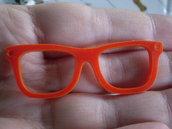 1 Pendente Occhiali in Plexiglass ROSSO