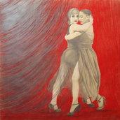 """disegno """" Il tango di Carmilla"""""""