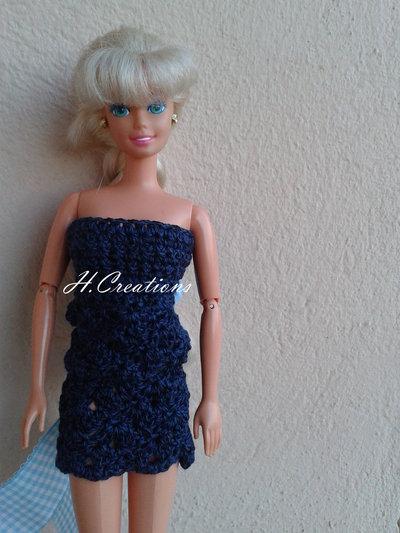 Abito Barbie