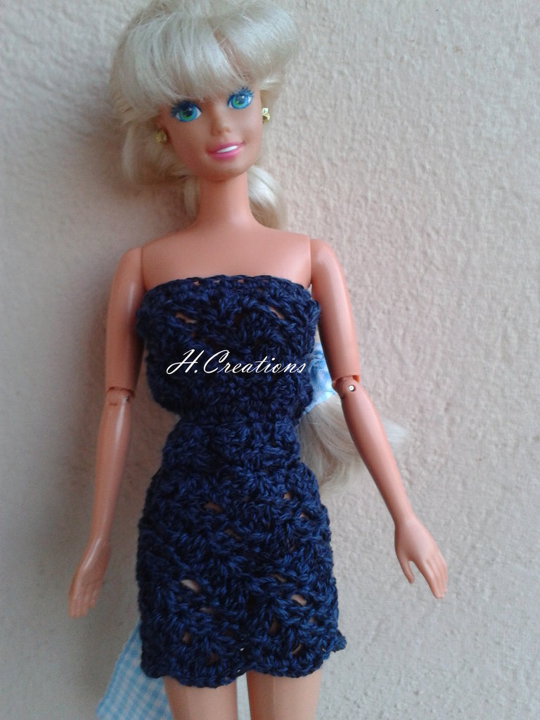 Abito Barbie intero