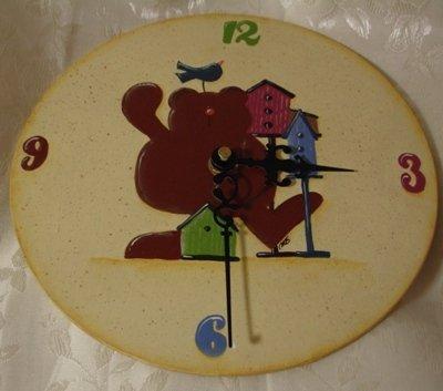 Orologio con orsetto