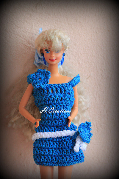 Abitino Barbie modello Taissia