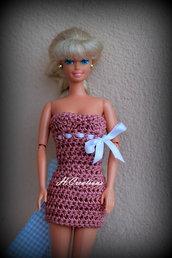 Abito Barbie modello Lina
