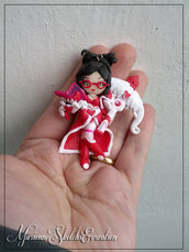 Heartseeker Vayne, the Night Hunter - Miniatura - Fimo - League of Legends