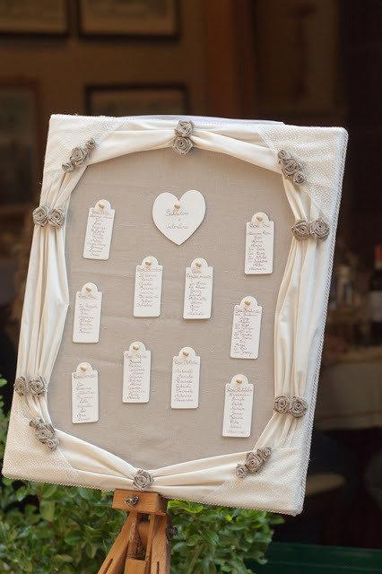 Tableau Matrimonio Country Chic : Tableau de mariage feste matrimonio di shabby e