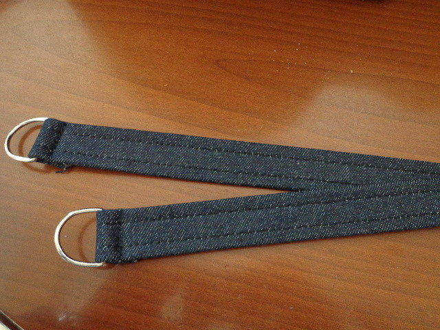 Manici jeans per borse