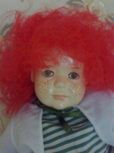Patty bambola in porcellana