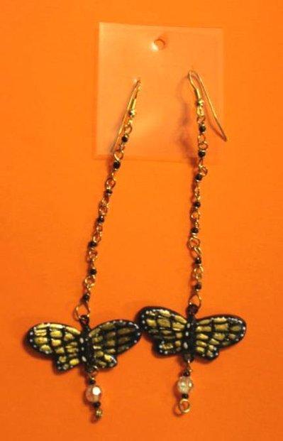 Orecchini libellule oro