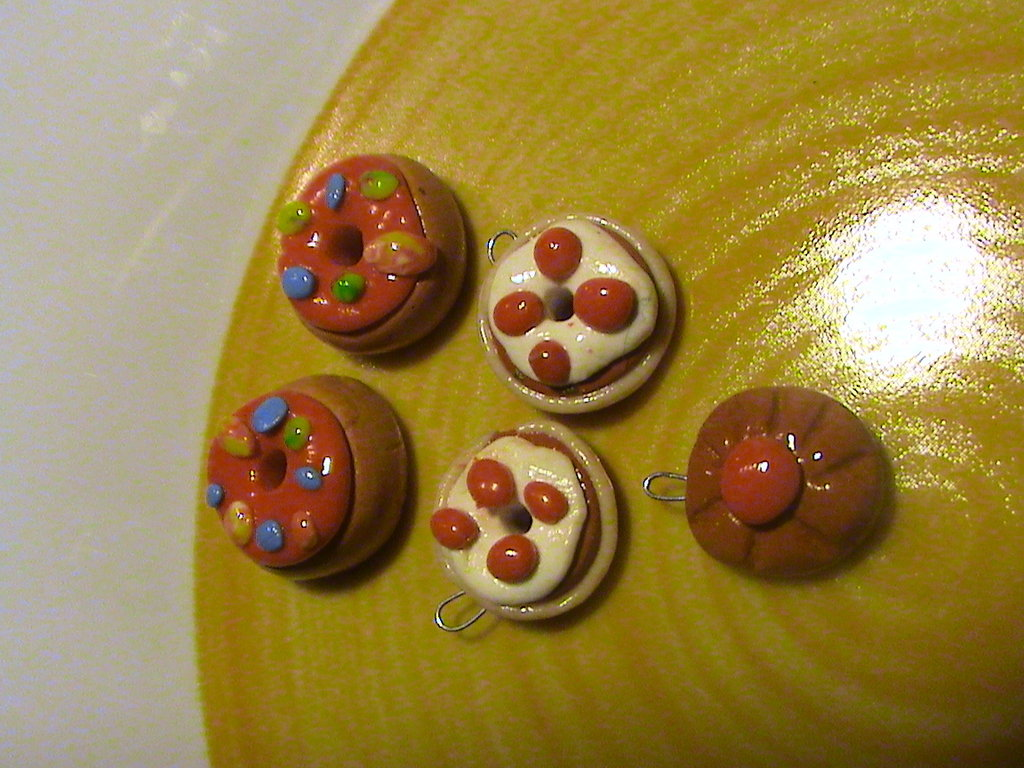 set di dolcetti charms