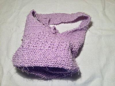Borsa borsetta bag sacca accessorio moda fatta a mano all'uncinetto in cotone