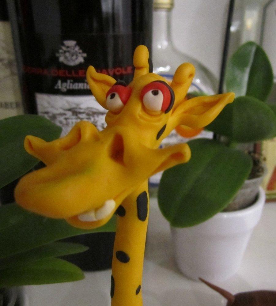 Bellisima giraffa Gina, Pubblicato in giornale ADD ARTE DEL DECORARE maggio/giugno 2013