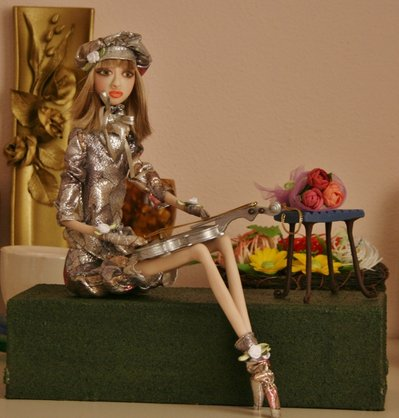 Art doll Dasha