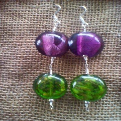 Orecchini perle in vetro di  Murano