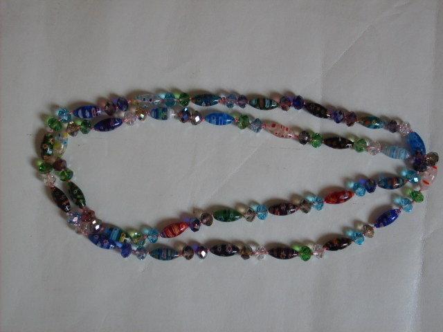 Collana cristalli