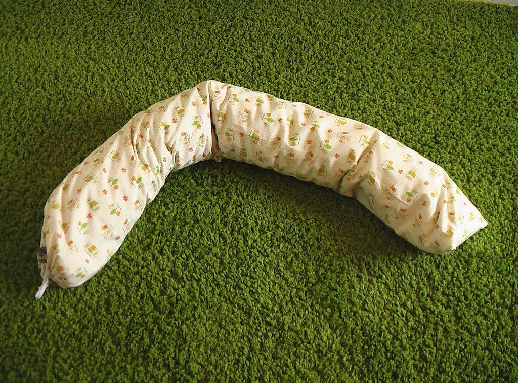 Cuscino allattamento in pula di farro 130 cm