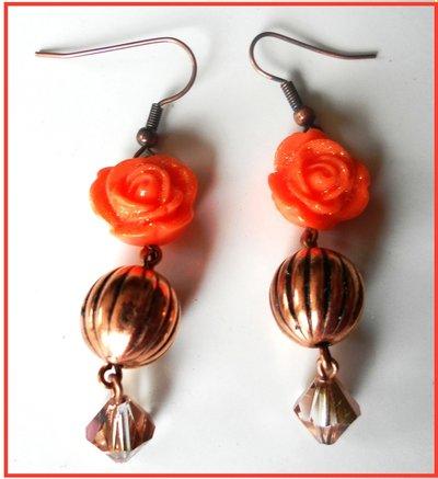 Orecchini rosa (2)