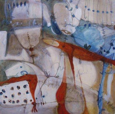 Sinfonia - olio su tavola - 60x60 - 2010